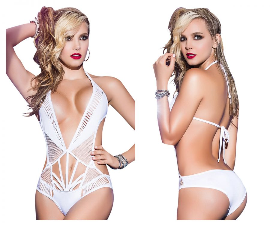 Mapale 2378 Bodysuit-Romper Color White