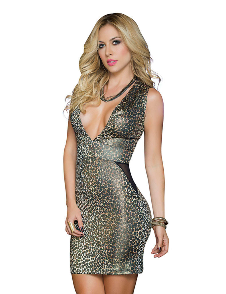 Mapale 4397 Dress Color Animal Print