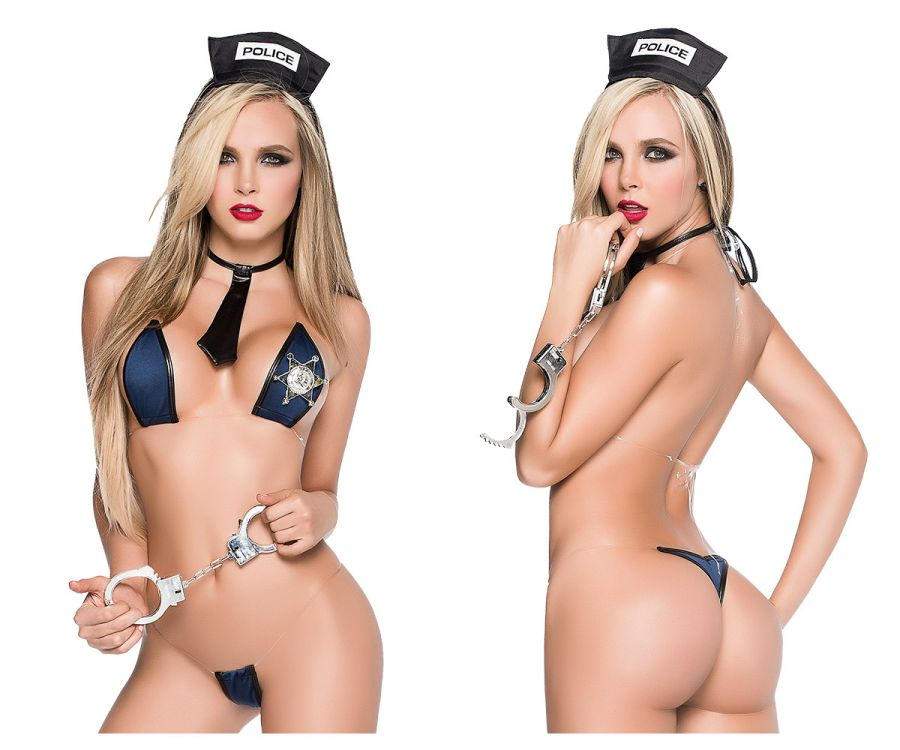 Mapale 6270 No Limits Sexy Police Officer costume Multi-colored