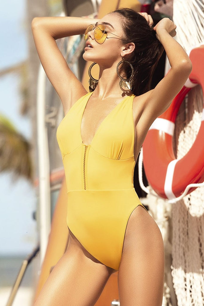 dcc23ff4b9dc2 Mapale 6510 One Piece Swimsuit Color Tuscany Yellow – MalestromOnline.com