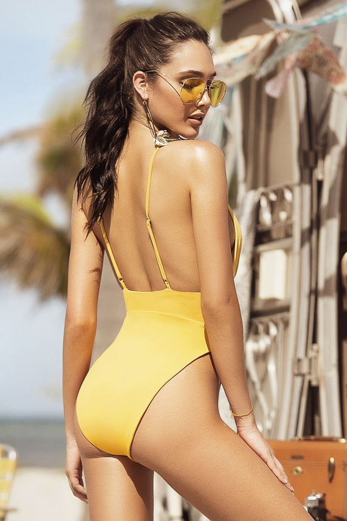 1210592910a75 ... Mapale 6510 One Piece Swimsuit Color Tuscany Yellow ...