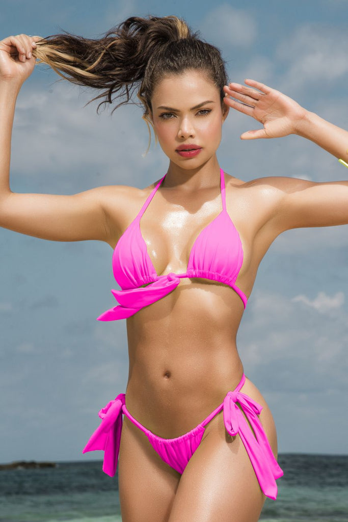 Mapale 6574 Two Piece Swimsuit Color Hot Pink