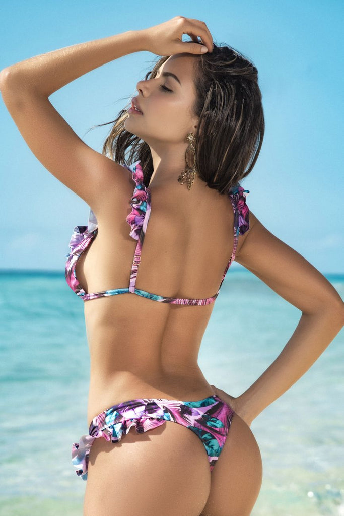 Mapale 6586 Two Piece Swimsuit Color Caribbean Nights