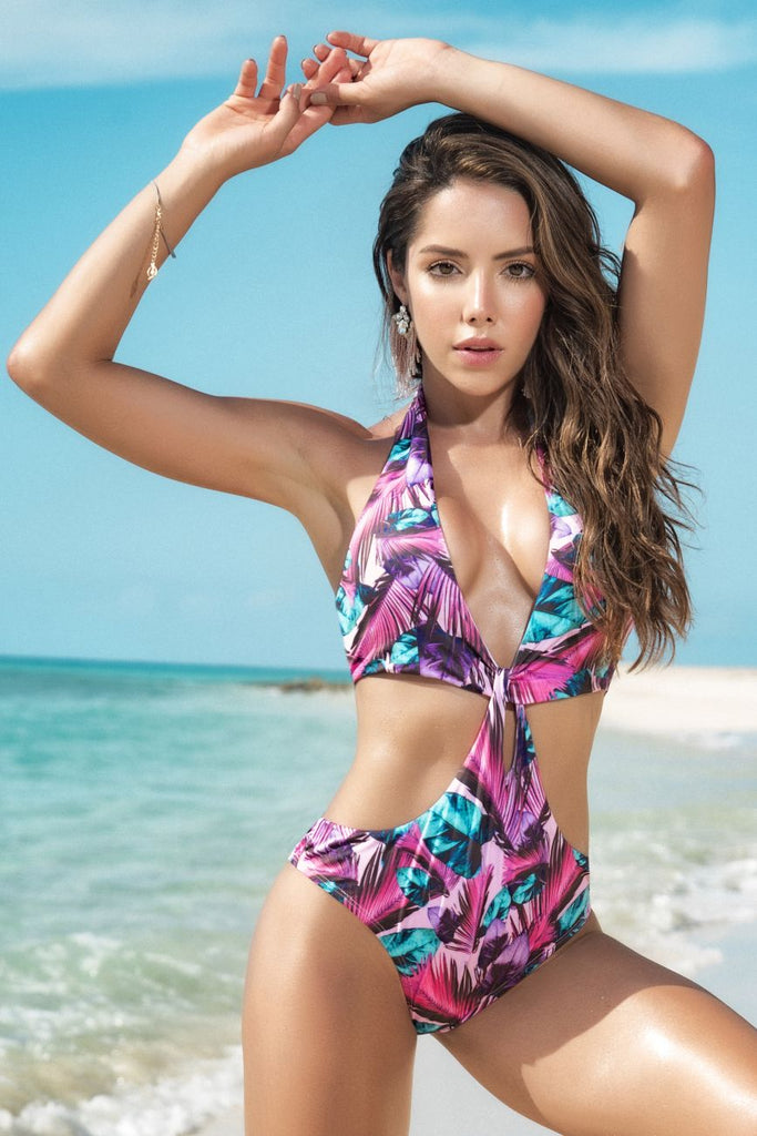 Mapale 6587 Monokini Color Caribbean Nights