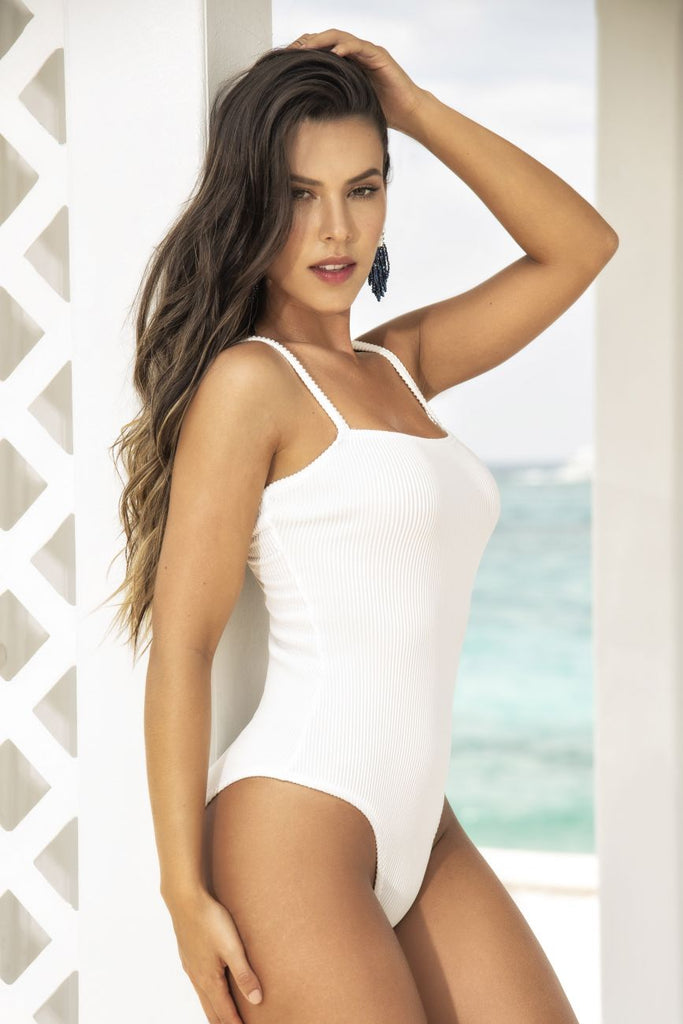 Mapale 9871 Bodysuit Color White
