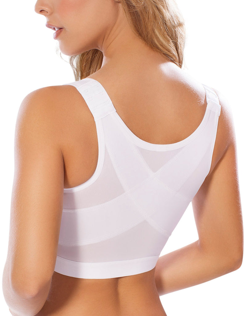 Moldeate 4003 Post-Surgery Brassiere Color White