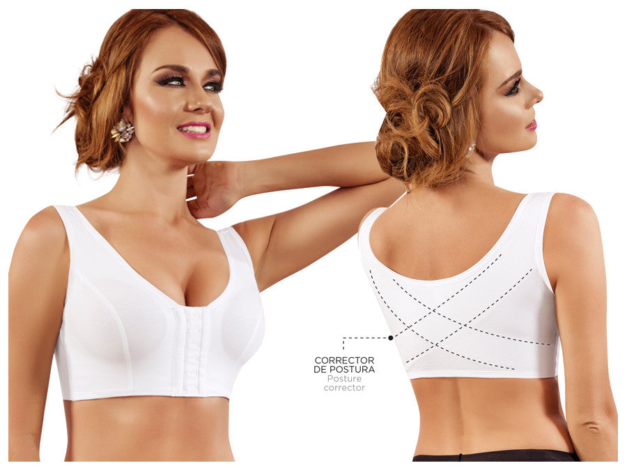Moldeate 4005 Post-surgery Brassiere-White-L