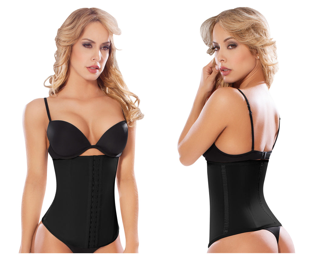 Moldeate-8026 Waist Cinchers-Black-S
