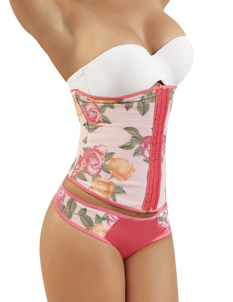 Moldeate 8038 Waist Cincher Lingerie Color Salmon