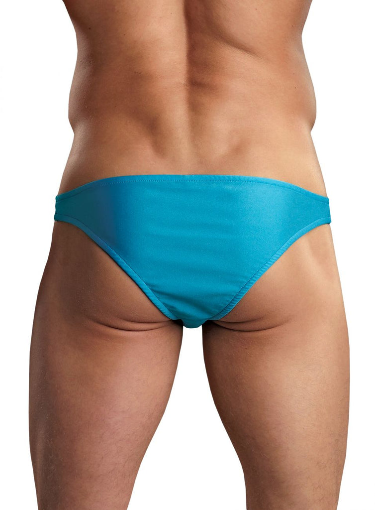 Male Power PAK871 Euro Male Spandex Brazilian Pouch Bikini Color Blue