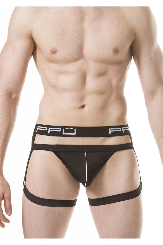 PPU 1810 Thongs Color Black