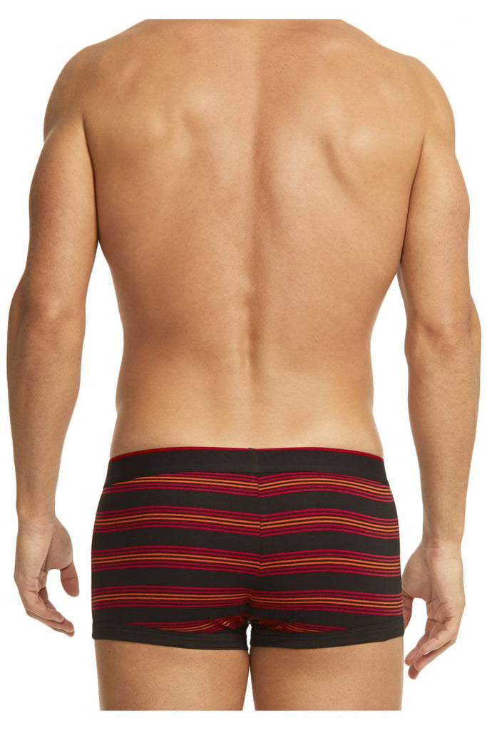 Papi 980503-982 3PK Cotton Stretch Brazilian Yarndye Band Stripe Color Red-Black