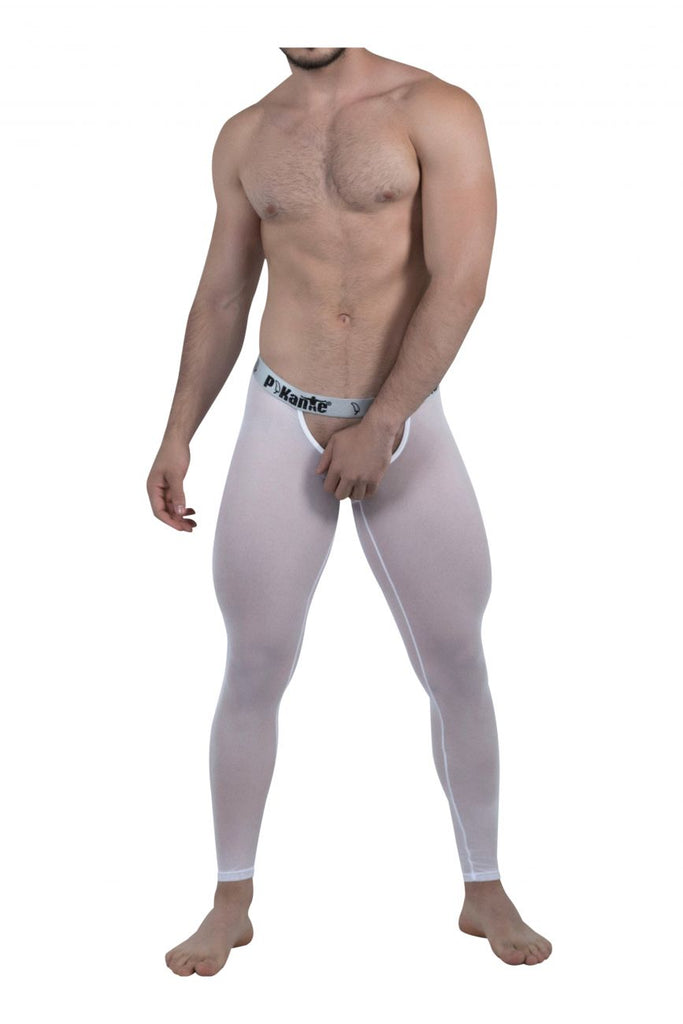Pikante PIK 6001 Soho Long Johns Color White