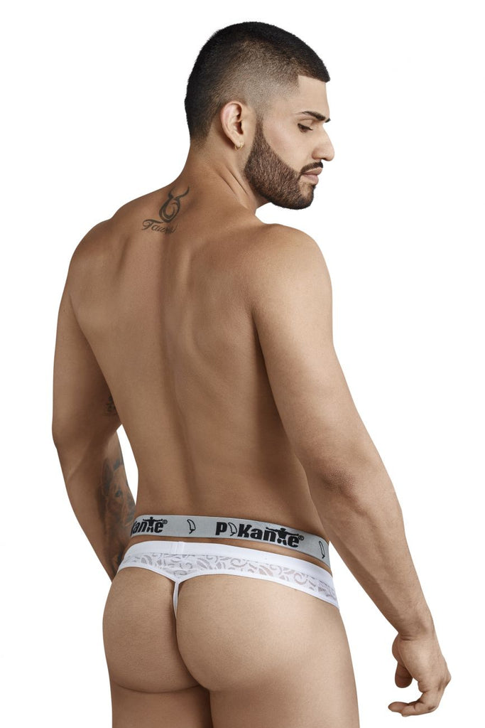 Pikante PIK 8052 Spell Thongs Color White