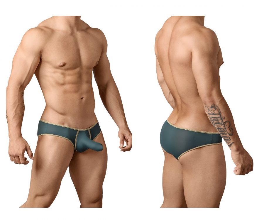 Pikante PIK 8699 Underground Briefs Color Green