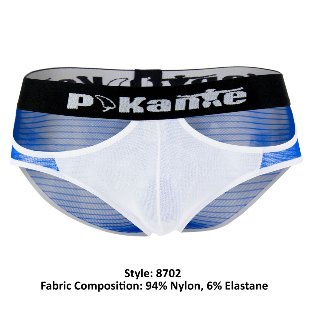 Pikante PIK 8702 Kiwi Briefs Color Blue