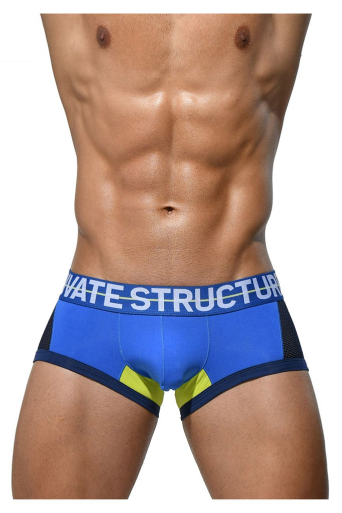 PS Brand MIUY3853 Momentum Orange Trunks Color Blue