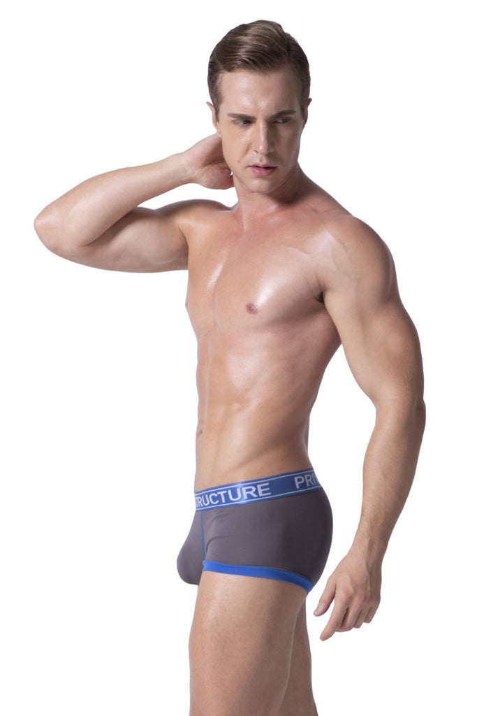 Private Structure SLUZ3680 Soho Luminous Boxer Briefs Color Royal