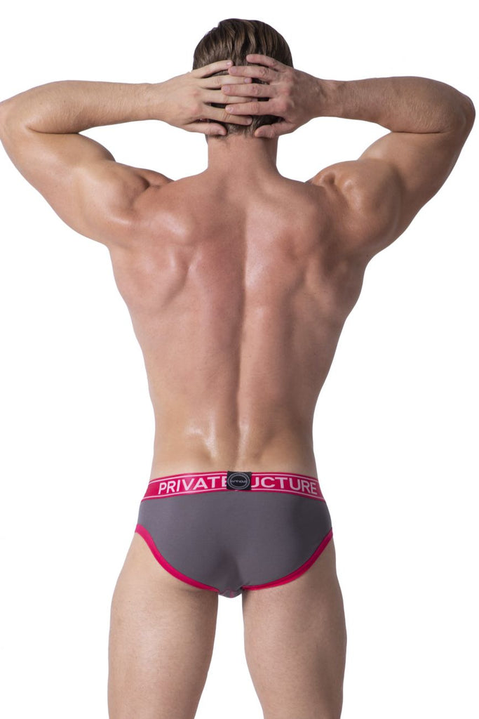 Private Structure SLUZ3681 Soho Luminous Briefs Color Berry