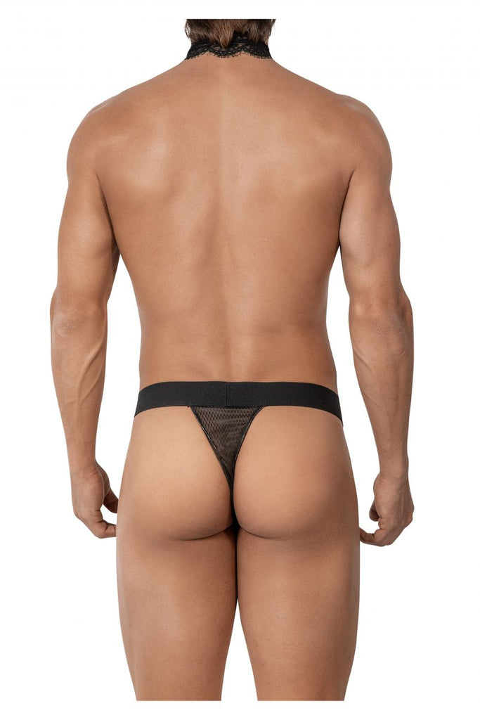 Roger Smuth RS026 Thongs Color Black