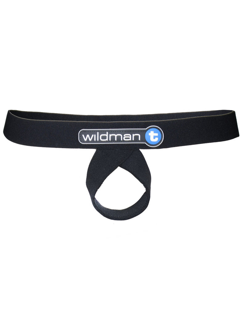 WildmanT Lift Loop Support Jock BLACK