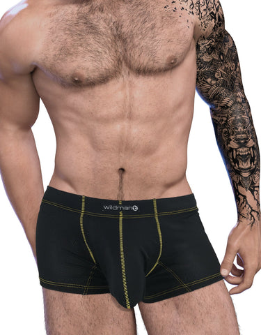 Wildmant Slut Big Boy Pouch Brief See Through Pouch