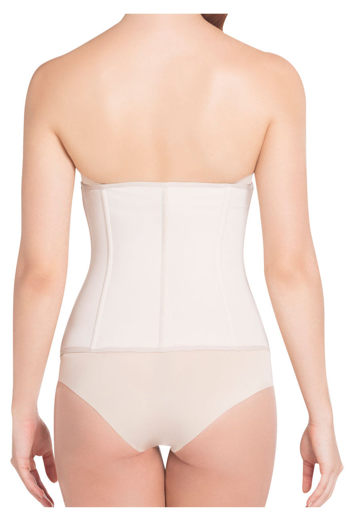 Siluet 1024 Extra-Strength Compression Shaper with latex Color Nude