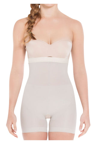 0f8c4043a98 Siluet. Siluet TF504 Seamless Bra Less Silicone-Lined Mid-Thigh Color Nude