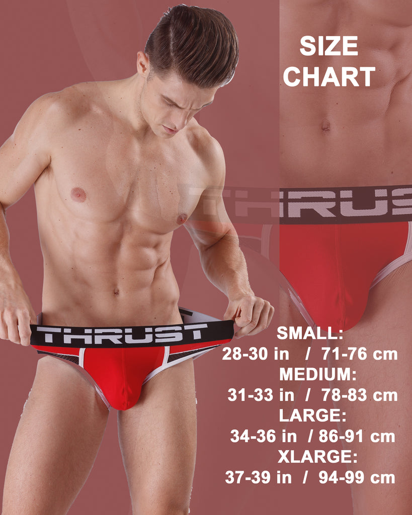 Thrust Sport Mesh Boxer Brief Grey