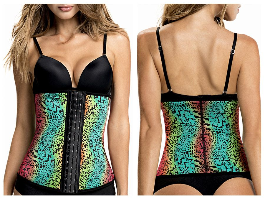 TrueShapers 1041 Latex free Waist Training Cincher Color 01-Print