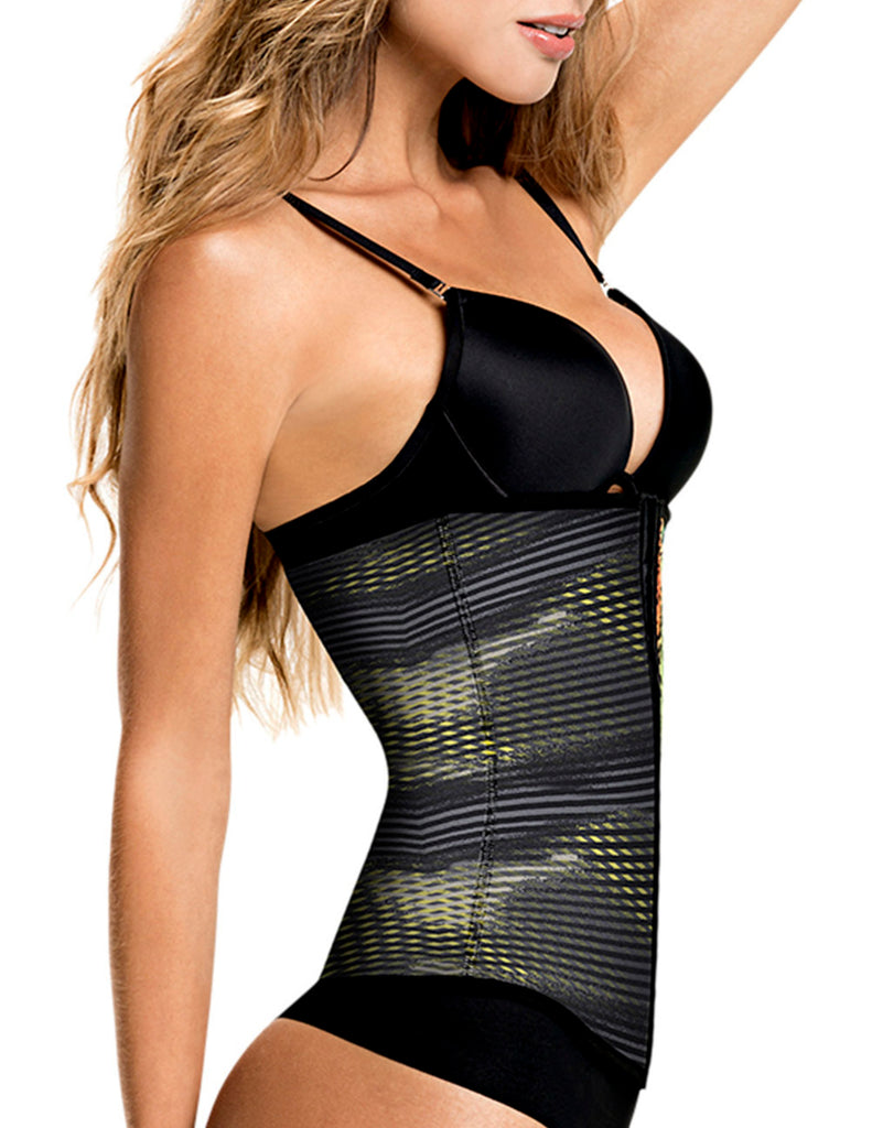 1041 Latex free Waist Training Cincher Color Print-07