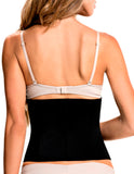 TrueShapers 1061 Latex free Workout Waist Training Cincher Color Black