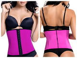 TrueShapers 1061 Latex free Workout Waist Training Cincher Color Fuchsia