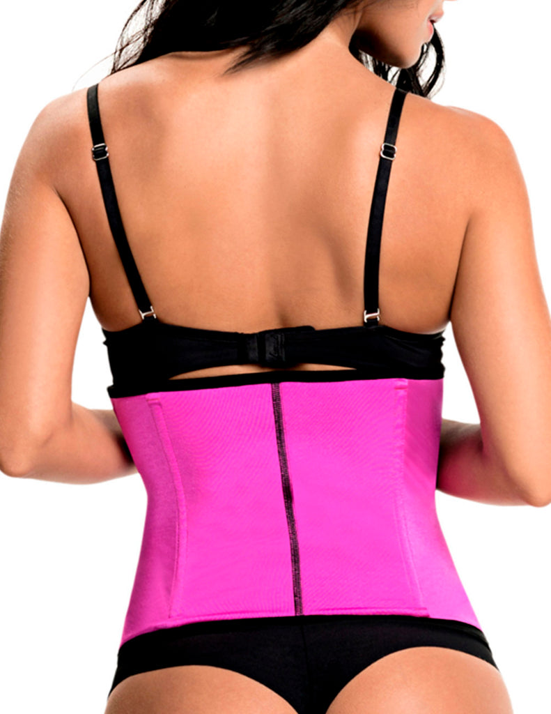 1061 Latex free Workout Waist Training Cincher Color Pink