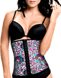 1062 Latex free Workout Waist Training Cincher Color Print-03