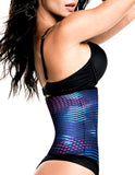 1062 Latex free Workout Waist Training Cincher Color Print-06