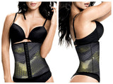 TrueShapers 1062 Latex free Workout Waist Training Cincher Color 07-Print