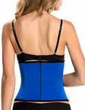 TrueShapers 1063 Latex free Workout Waist Training Cincher Color Blue