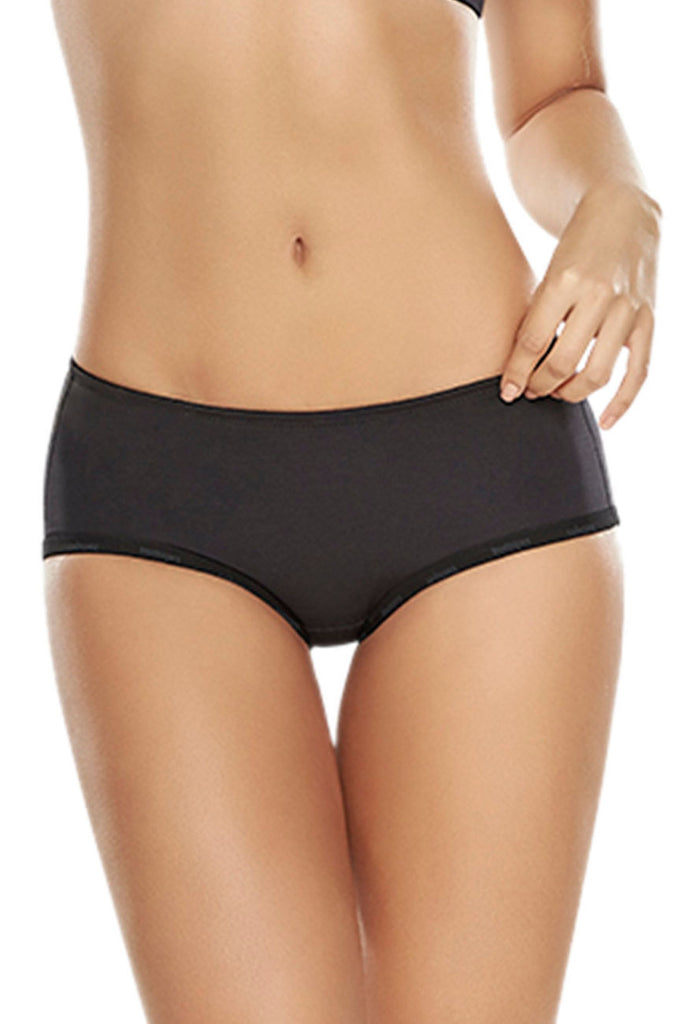 TrueShapers 1211 Butt Lifter Padded Panty Color Black