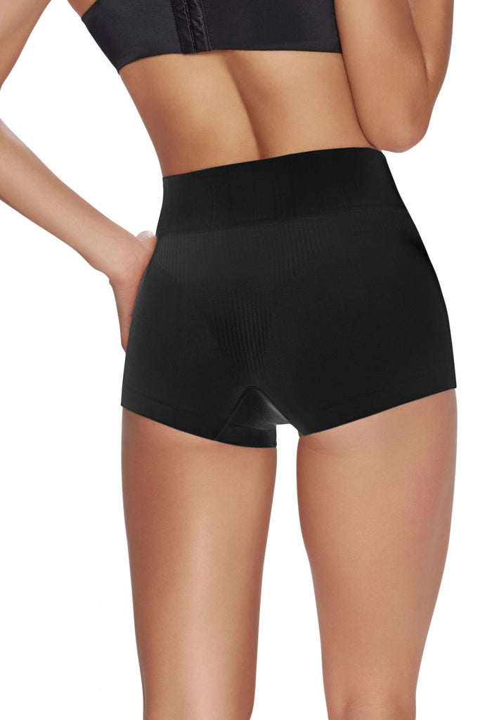TrueShapers 1230 Everyday Shaping Panty Boyshort Color Black