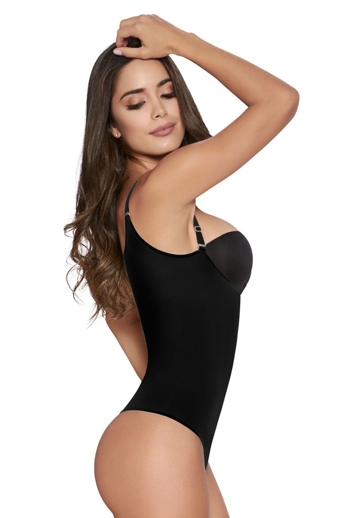 TrueShapers 1236 Slimming Romper Color Black