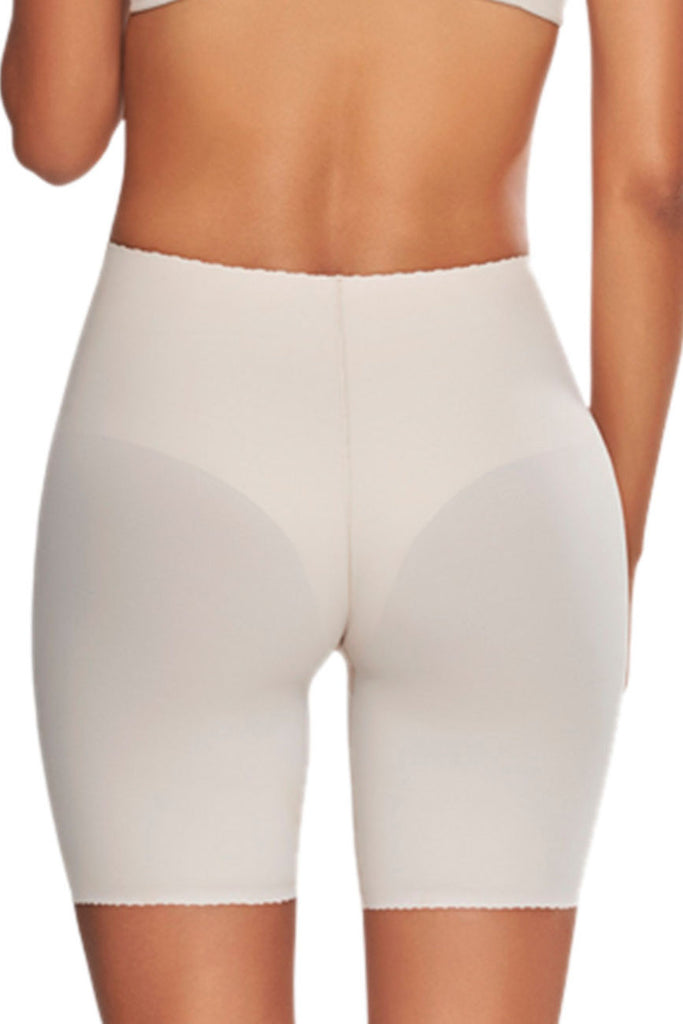 TrueShapers 1270 Mid-Thigh Invisible Control Support Short Color Beige