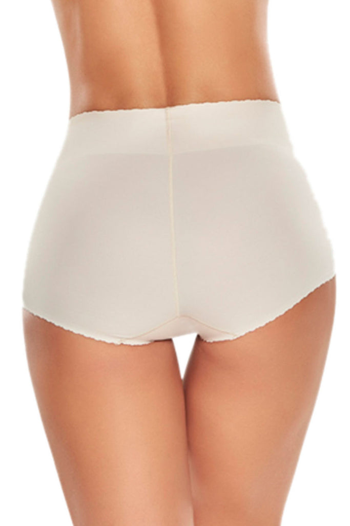 TrueShapers 1274 High-Waist Comfy Control Panty Color Beige