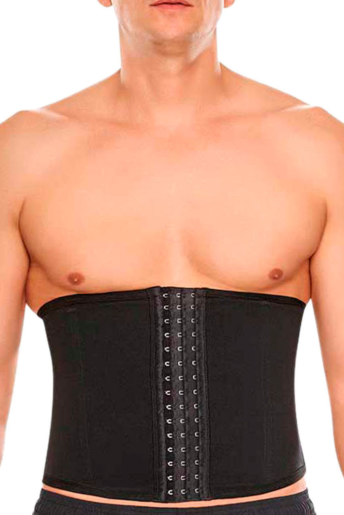 TrueShapers 1363 Highest Compression Workout Waisttraining Cincher Color Black