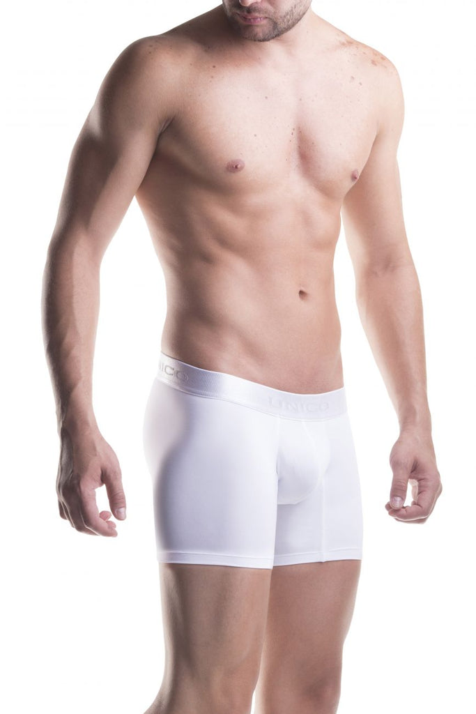 Unico 1200090300 Boxer Briefs Cristalino Color White