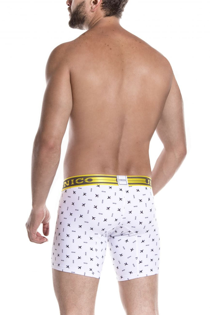 Unico 1902010023100 Boxer Briefs Radical Color White