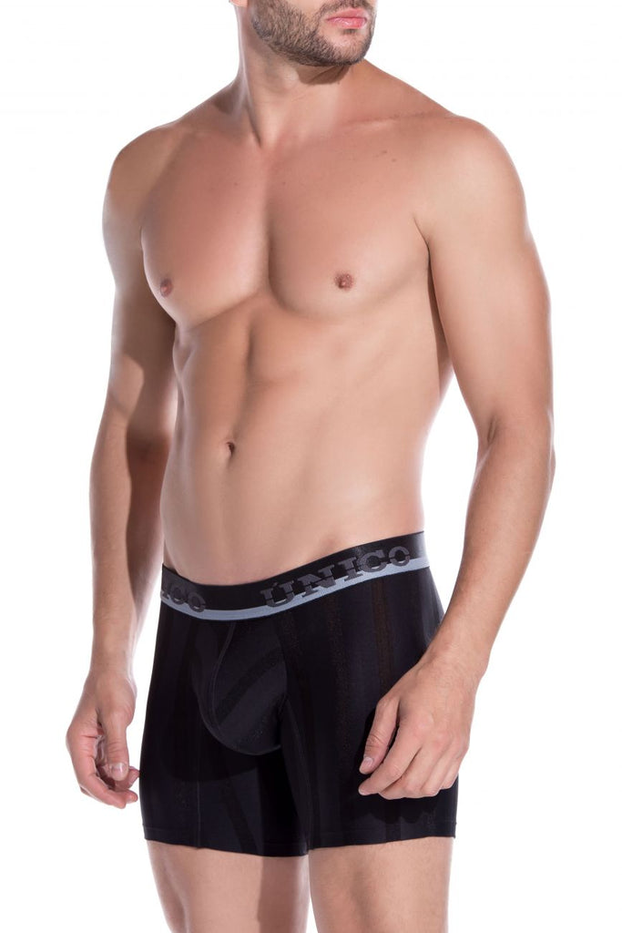 Unico 1905010020199 Boxer Briefs Azabache Color Black