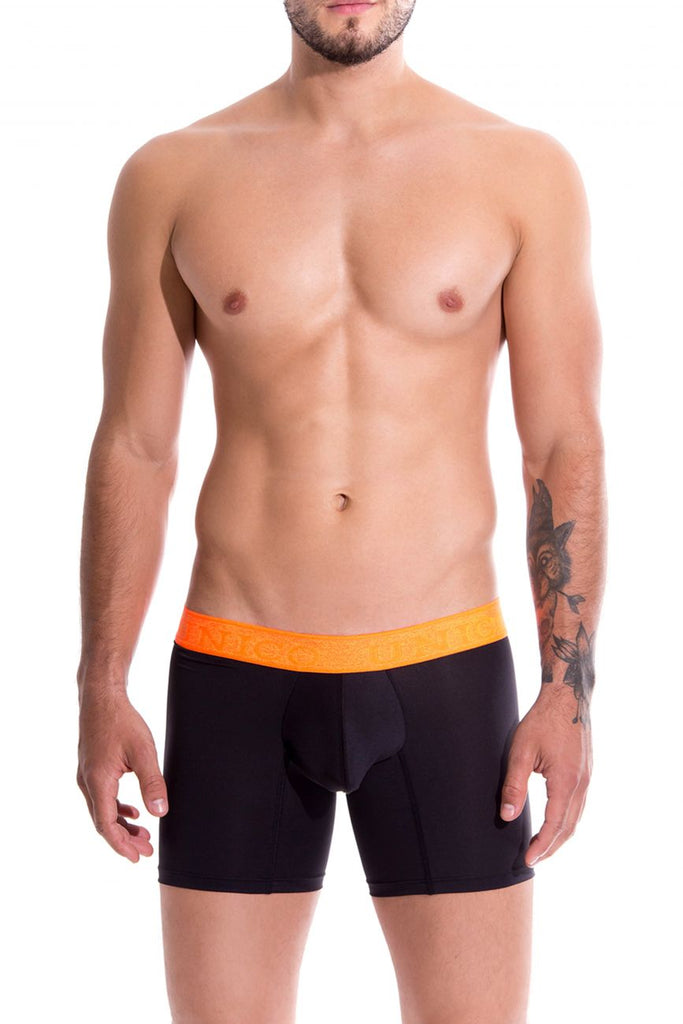 Unico 19160100214 COLORS Vigoroso Boxer Briefs Color 99-Black