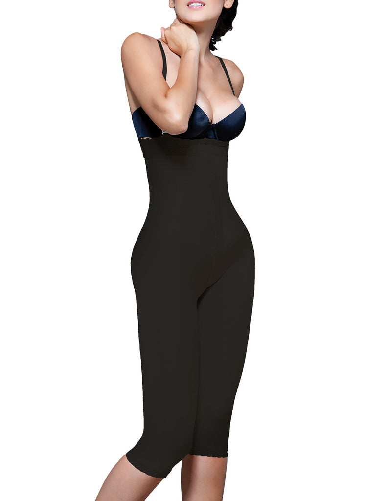 Vedette 140 Irina Strapless Below the Knee Body Shaper Color Black