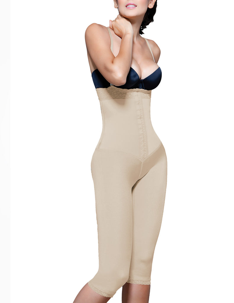 Vedette 140 Irina Strapless Below the Knee Body Shaper Color Nude